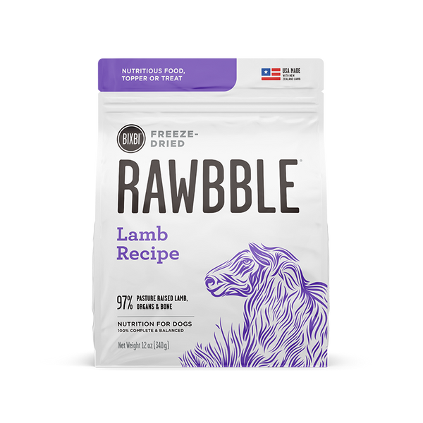 95% Lamb Freeze-Dried Recipe, 4.5oz