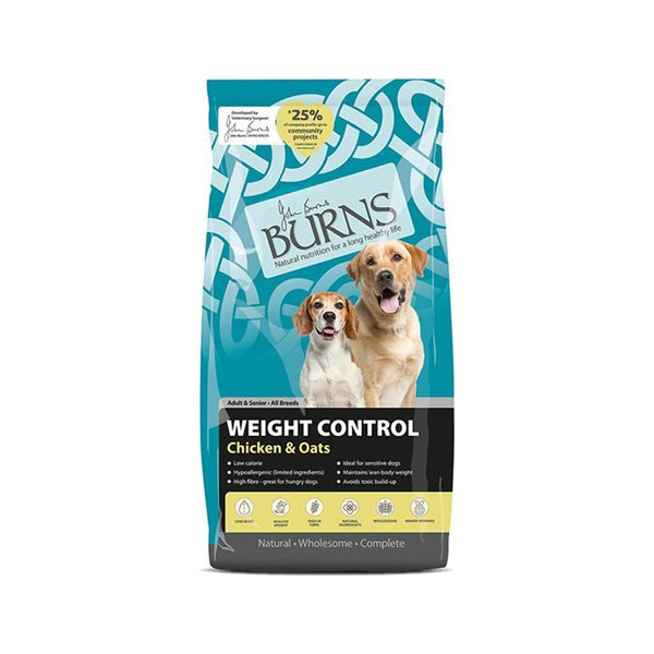 Weight Control Chicken & Oats, 12kg