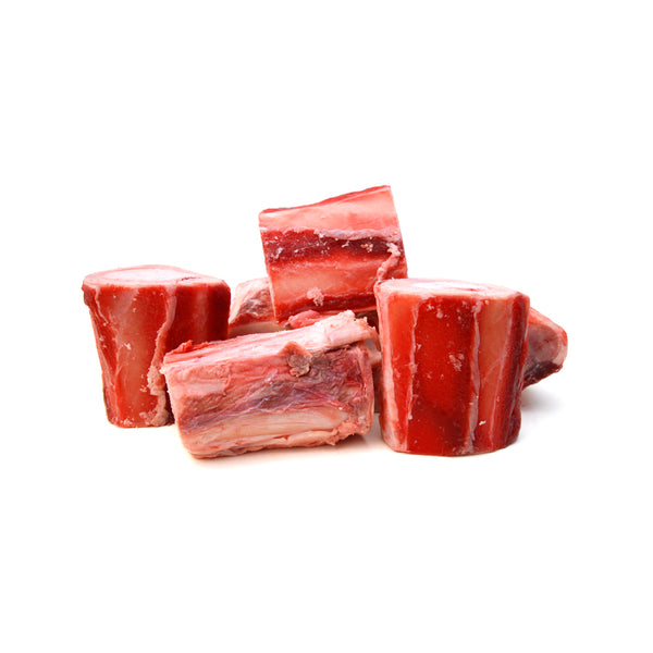Raw Fresh/Frozen Certified Organic Grass Fed Beef Bones, 1kg (10-12pcs)