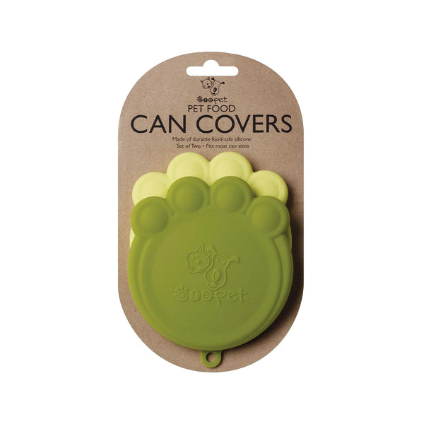 Ore Pet Can Cover S/2, Green & Green