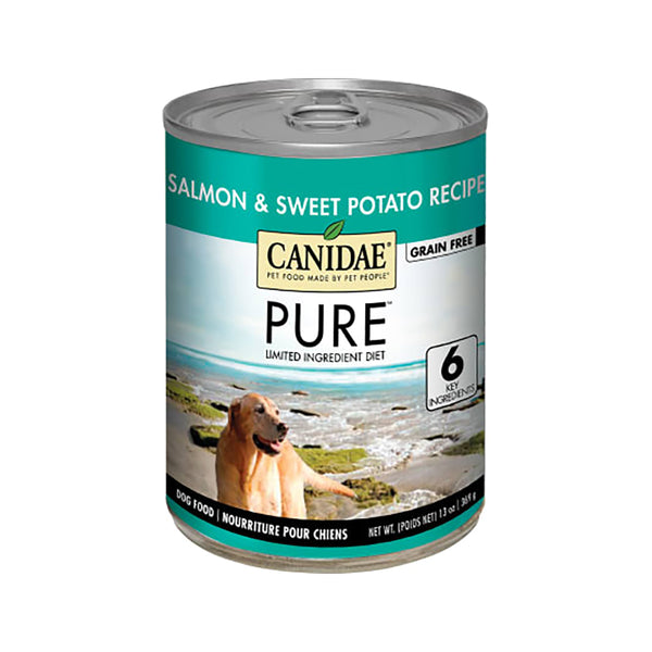 PURE Grain Free Salmon & Sweet Potato for Dogs, 13oz