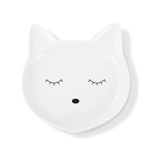 Fringe Cat Face Bowl