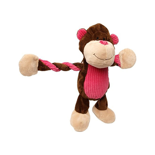 Pulleez, Monkey Cuddle toy for Dogs