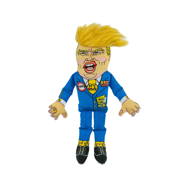Presidential Parody Cat Toy w/ Catnip