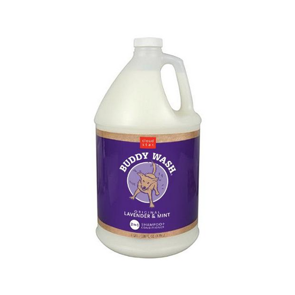 Buddy Wash Dog Shampoo - Lavender & Mint, 1 Gallon