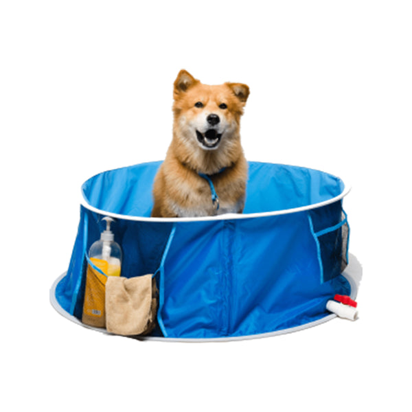 Dog Pool Bathing Tub, Medium (91 Dia x 33H)cm