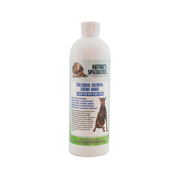 Colloidal Oatmeal Créme Rinse for Dogs & Cats, 16oz