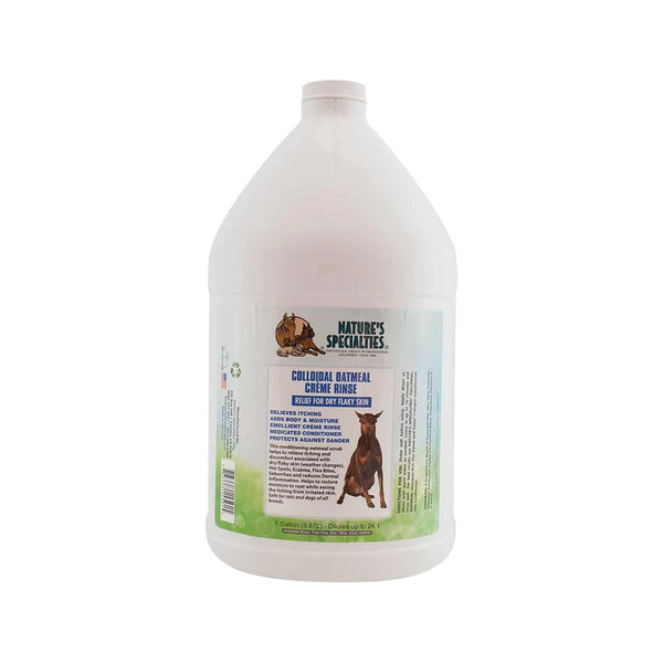 Colloidal Oatmeal Créme Rinse for Dogs & Cats, Gallon