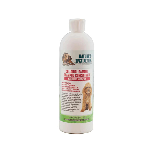 Colloidal Oatmeal Shampoo for Dogs & Cats, 16oz