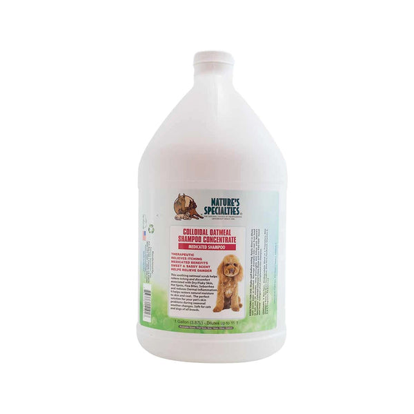 Colloidal Oatmeal Shampoo for Dogs & Cats, Gallon