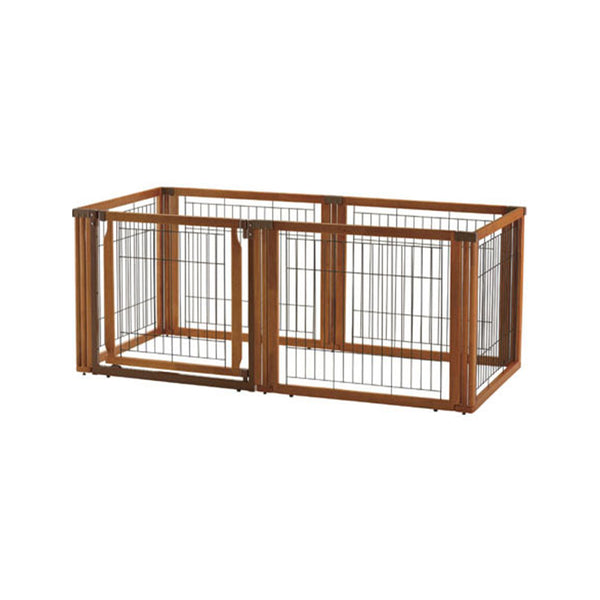 Wooden 3-Way Playpen 6 Panels (w/door), 70cm(H)
