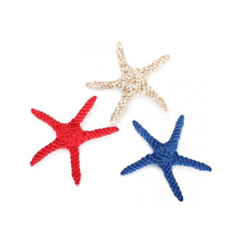 Cotton Rope Starfish Red