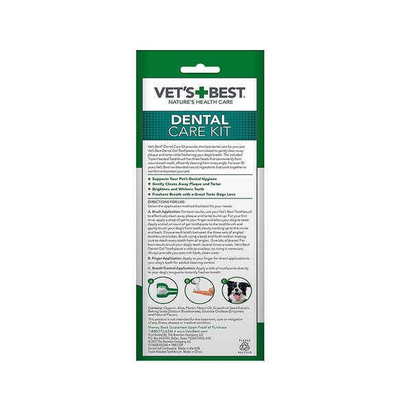 Vet'sBest Dental Care Kit
