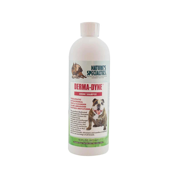 Derma-Dyne Shampoo for Dogs & Cats, 16oz