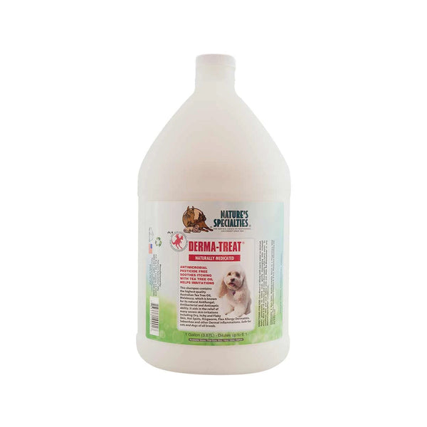 Derma-Treat Shampoo for Dogs & Cats, Gallon