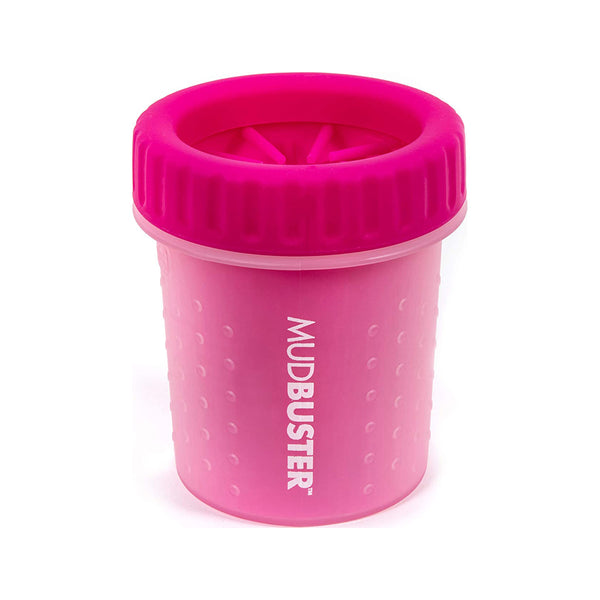 MudBuster Portable Dog Paw Cleaner Pink, Petite