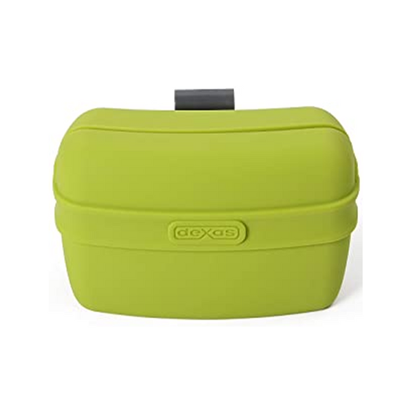 Dexas Popware Pooch Pouch, Color Green