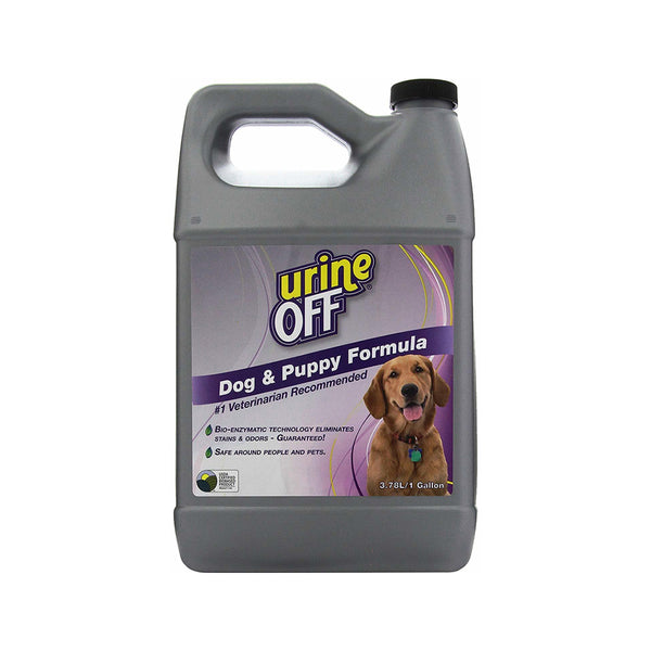 Dog & Puppy Stain & Odor Remover, 1 Gallon / 3.78 Liter
