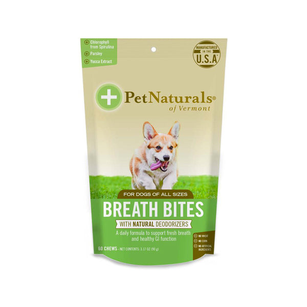 Dogs Breath Bites Soft Chews, 60 Counts