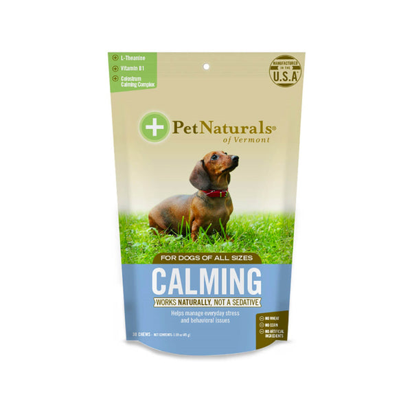 Dogs Calming Soft Chews : 30 Counts