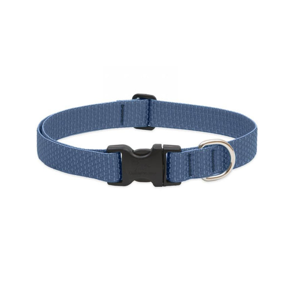 "Eco Dog Collar, Color: Mountain Lake, Width: 1"", Length: 12""-20"" (Adjustable)"