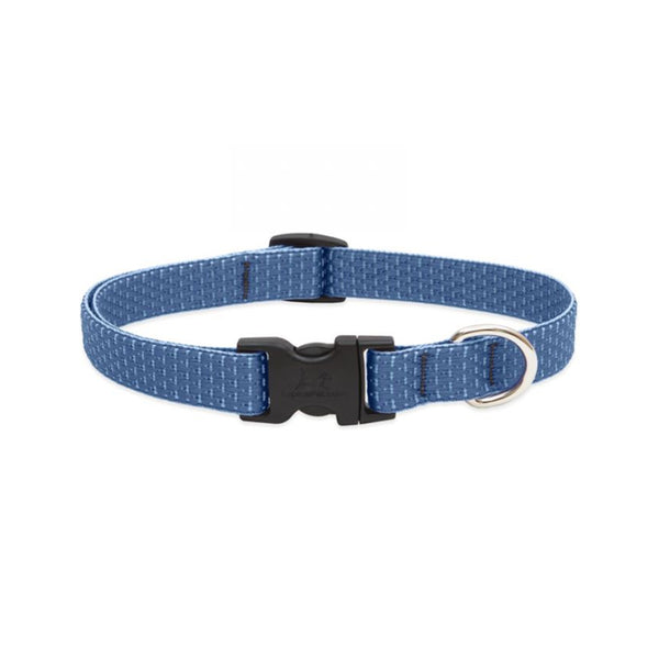 "Eco Dog Collar, Color: Mountain Lake, Width: 3/4"", Length: 9""-14"" (Adjustable)"