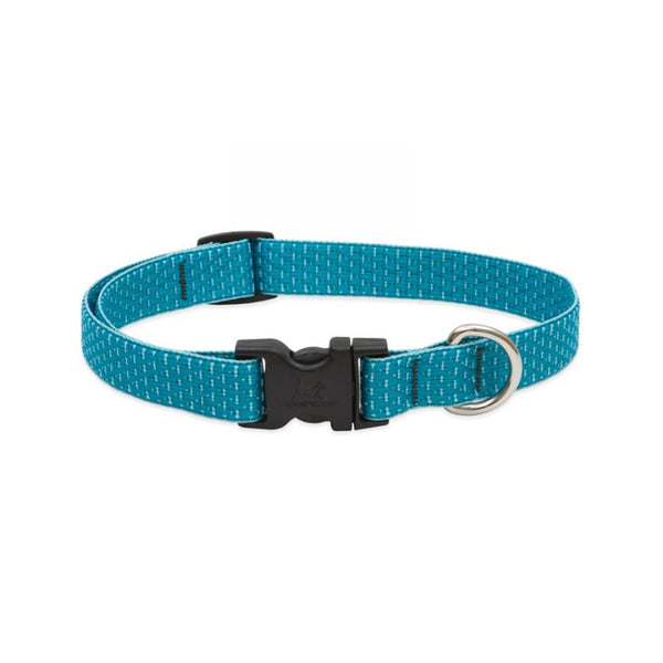 "Eco Dog Collar, Color: Tropical Sea, Width: 3/4"", Length: 13""-22"" (Adjustable)"
