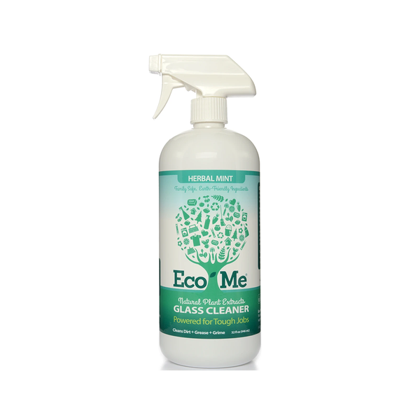 Eco-Me Glass Cleaner - Herbal Mint 32oz