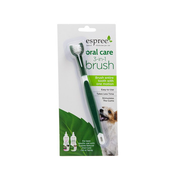Espree Oral Care 3-in-1 Brush