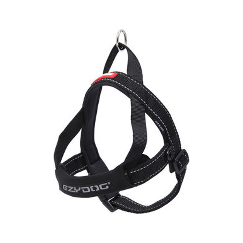 Quick Fit Harness Color : Black, XSmall