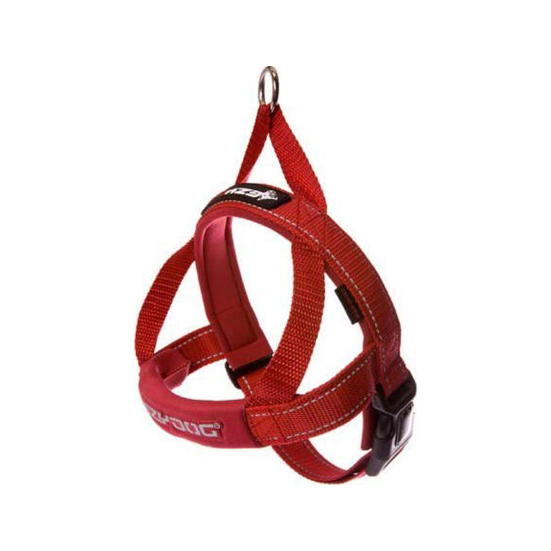 Quick Fit Harness Color : Red, XSmall