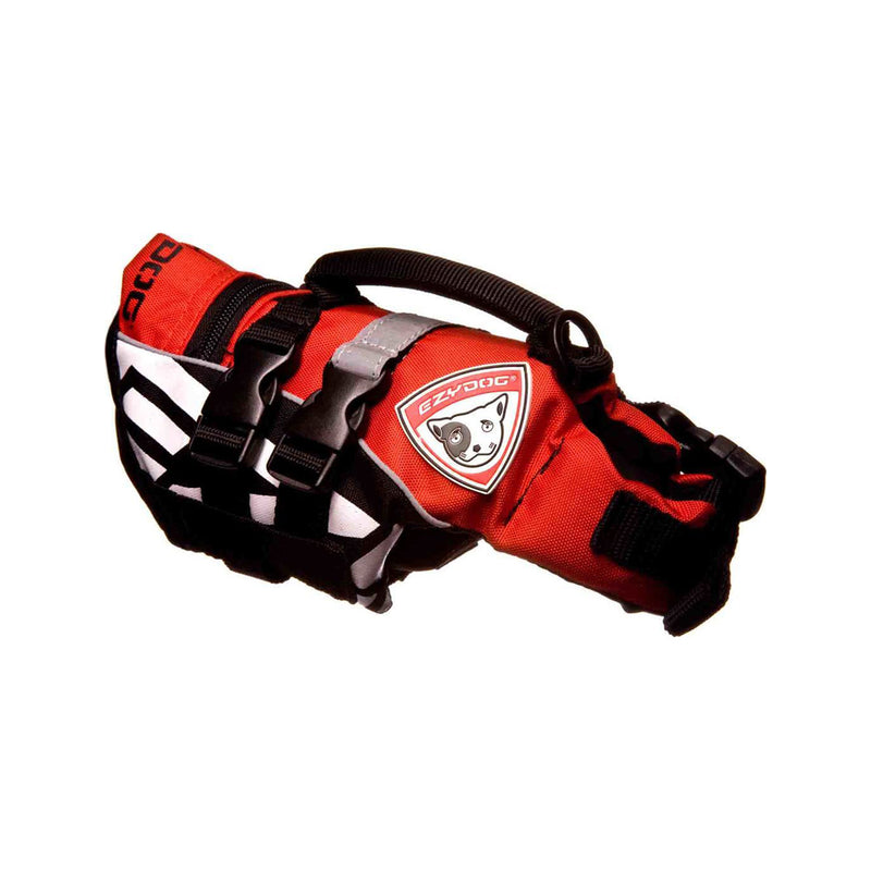 Micro DFD Dog Life Vest Red, M2XS