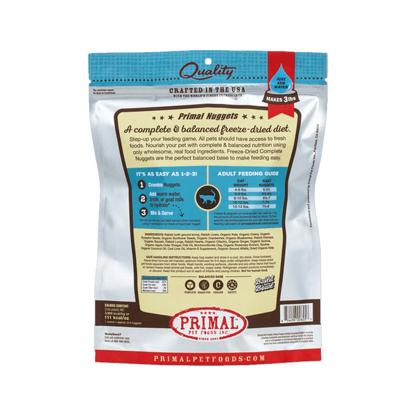 Feline Freeze Dried Rabbit, 14oz