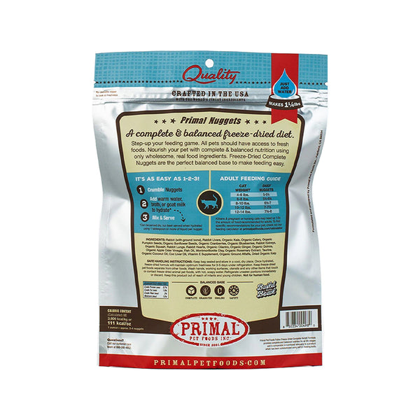 Feline Freeze Dried Rabbit, 5.5oz