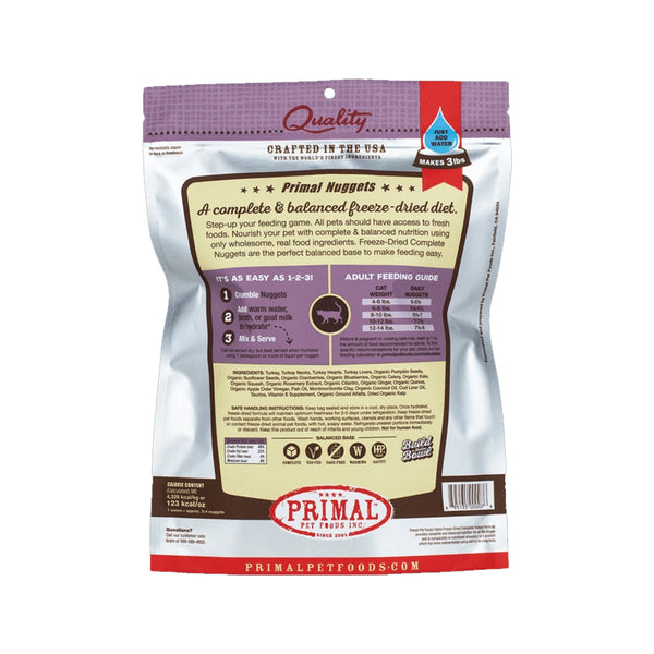 Feline Freeze Dried Turkey, 14oz