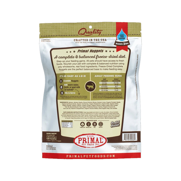 Feline Freeze Dried Venison, 14oz
