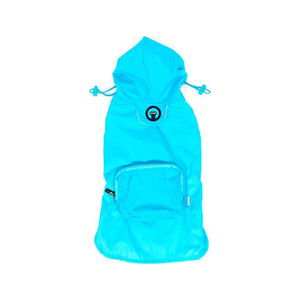 Packaway Blue Raincoat, Medium