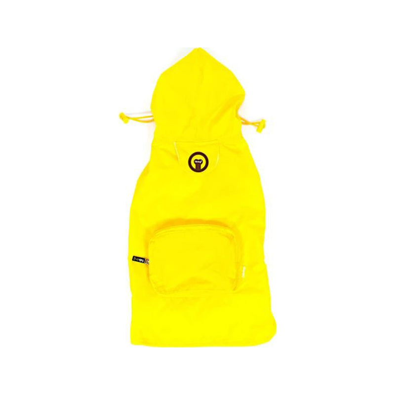 Packaway Yellow Raincoat, Large
