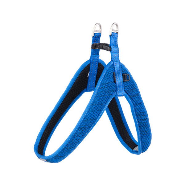 Snack Fast Fit Harness, Blue, Medium / Large