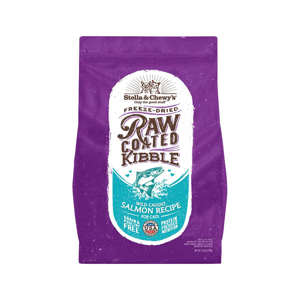 Feline Raw Coated Kibble Wild Caught Salmon Recipe, 5lb