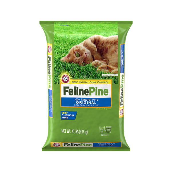 Natural Pine Cat Litter Weight : 20lb