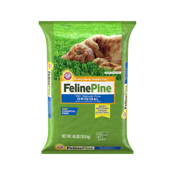 Natural Pine Cat Litter Weight : 40lb