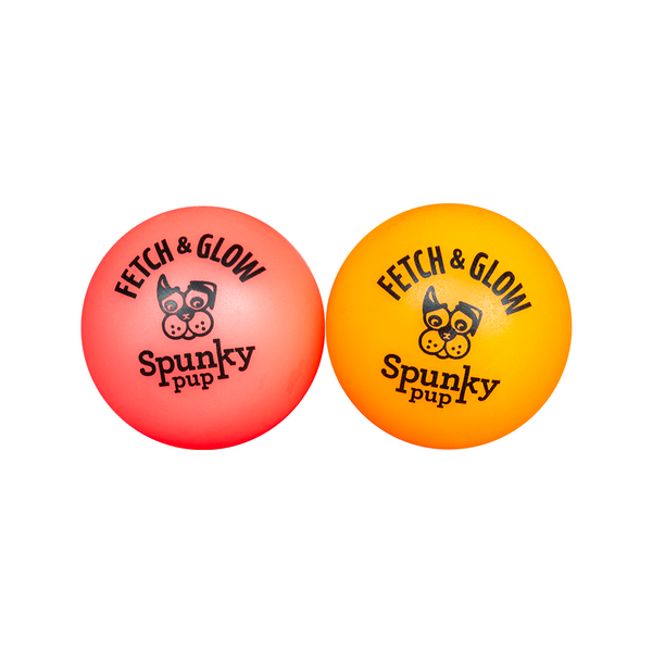 Fetch & Glow Ball 2-pack Small