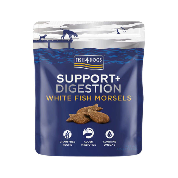 Treats - White Fish Morsels for Digestion, 225g