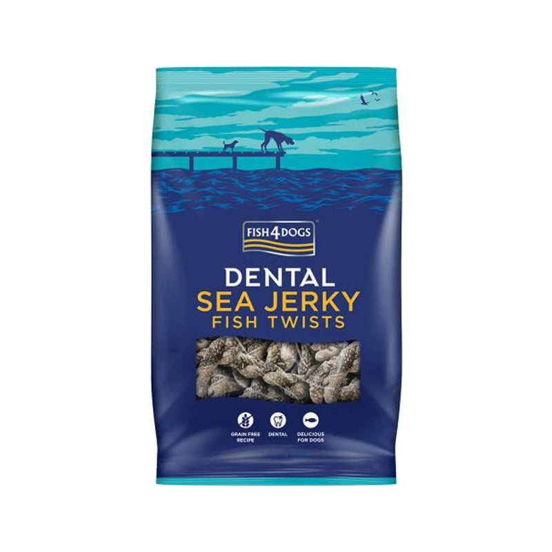 Treats - Sea Jerky Fish Twists, 100g