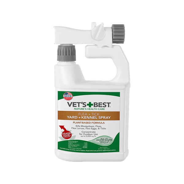 Flea & Tick Yard & Kennel Spray, 32oz