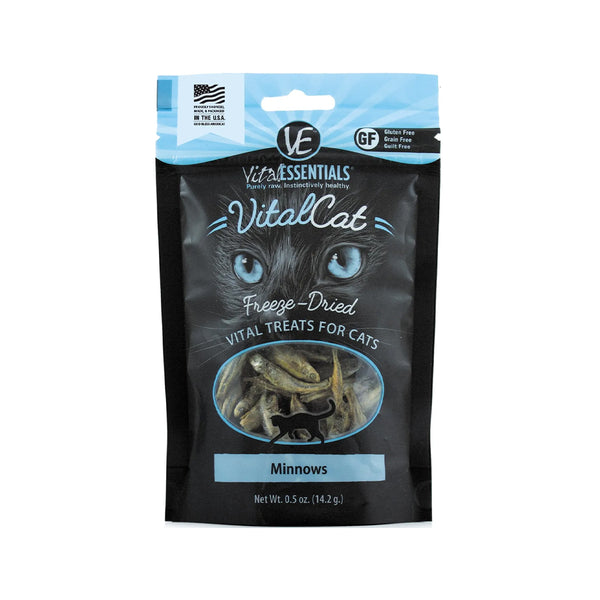 Freeze-Dried Minnows for Cats, 0.5oz