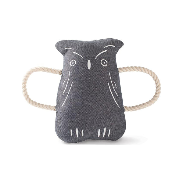 Owl Canvas Dog Toy
