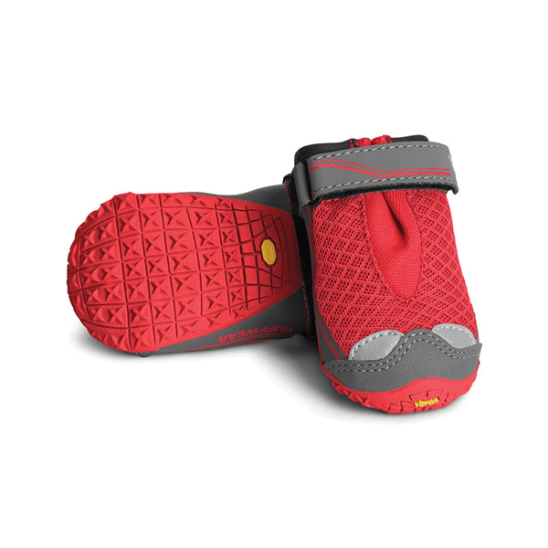 "Grip Trex Dog Boots, Color Red, 3.25"" (Set of 2)"