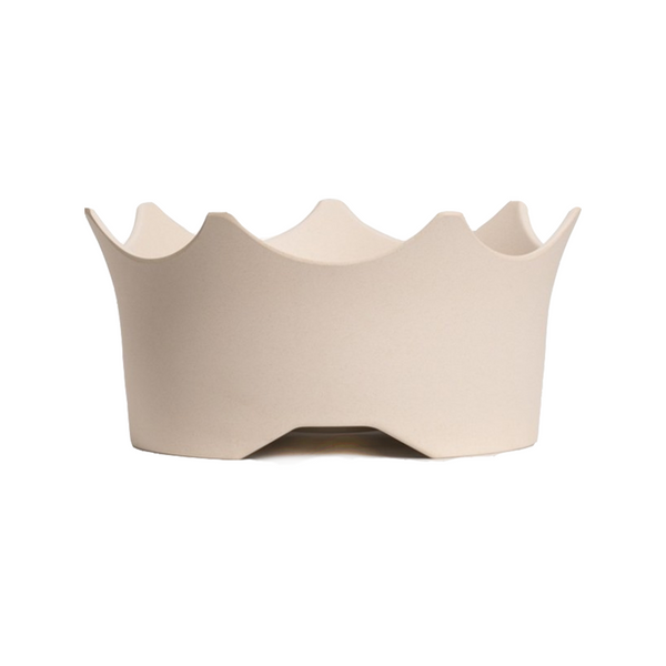 CrownJuwel Gem-water Bowl, Natural White